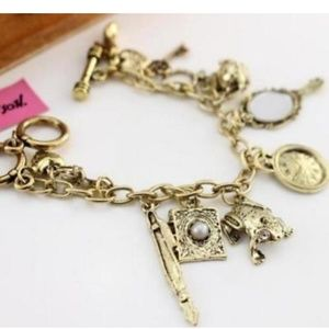 Betsey Johnson Victorian Charm Bracelet